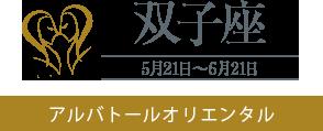 【双子座】アルバトールオリエンタル